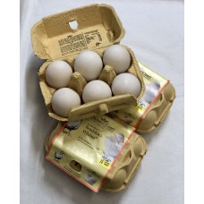 Clarence Court Free Range Duck Eggs x6