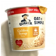 Quaker Simple Golden Syrup Porridge Pot
