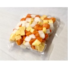 Prepared Diced Carrot, Turnip, Swede 500g
