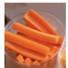 Carrot Sticks 150g Pots