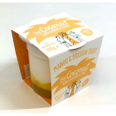 The Coconut Collaborative - Dairy Free Mango & Passion Fruit 120g