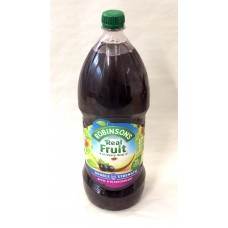 Robinsons Apple and Blackcurrant Squash 1.75litre